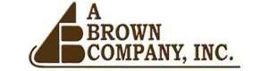 A BROWN COMPANY, INC.